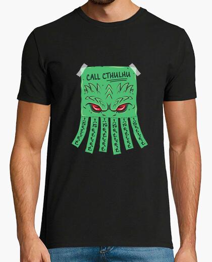 T-shirt chiama cthulhu