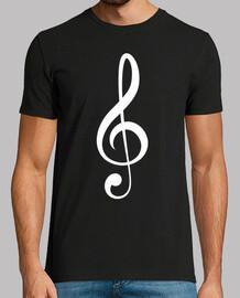 chiave di violino (bianco)