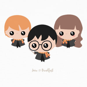 T-shirt Chibi Harry Potter