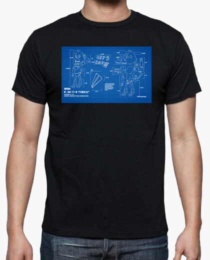Camiseta chica fnaf blueprint 2 n 781056 camisetas latostadora camiseta chica fnaf blueprint 2 malvernweather Images