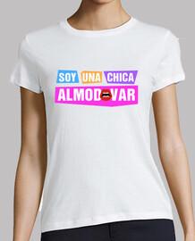 Chica Almodóvar Ajustada Blanca Chica