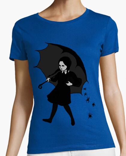Camiseta chica de miedo