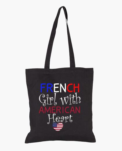 Bolsa chica francesa con corazón...