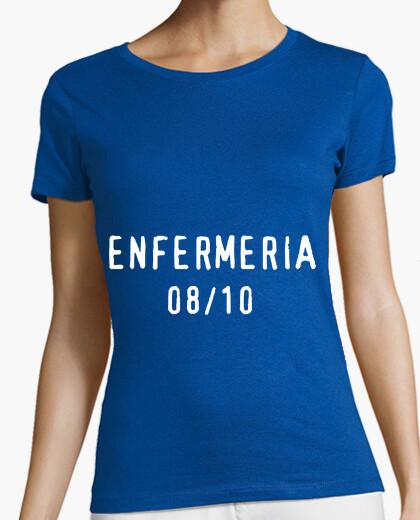 Camiseta Chica, manga corta ajustada, azul royal