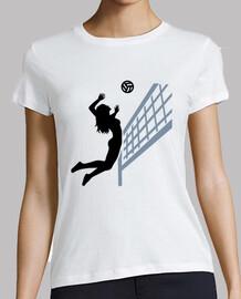 chica mujer voleibol