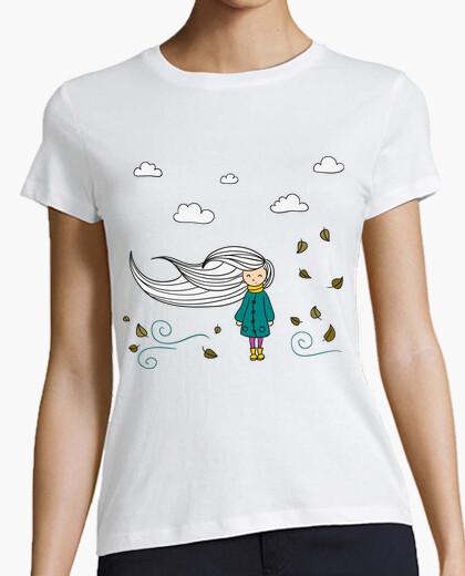 Camiseta Chica Otoño