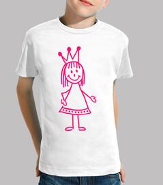 chica rosa princesa