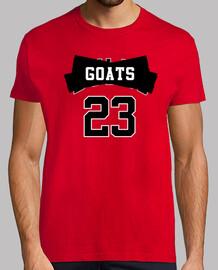 Chicago Bulls Jordan - Goats/Cabras