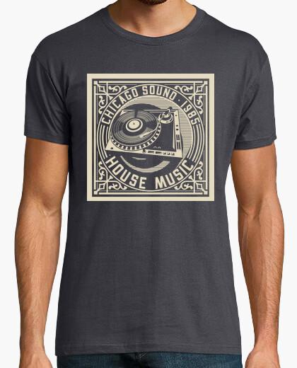 Camiseta Chicago House Music