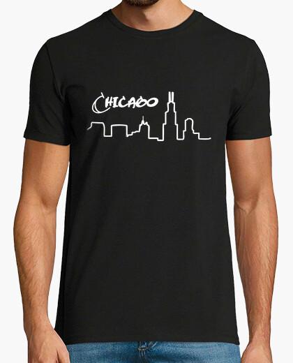 Camiseta Chicago skyline
