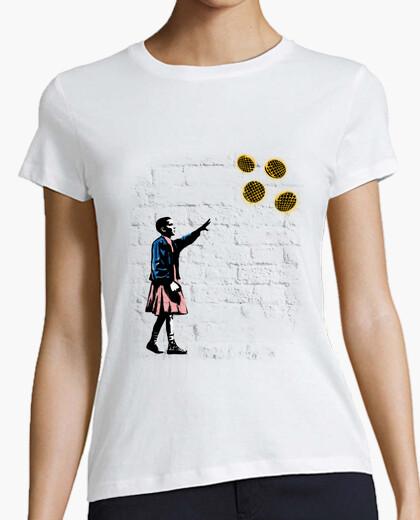 Camiseta chicas y gofres