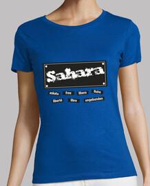 CHICA.Sahara libre en todo el mundo