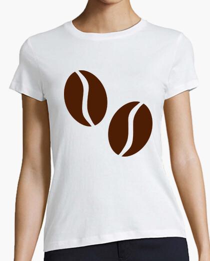 T-shirt chicchi di caffè