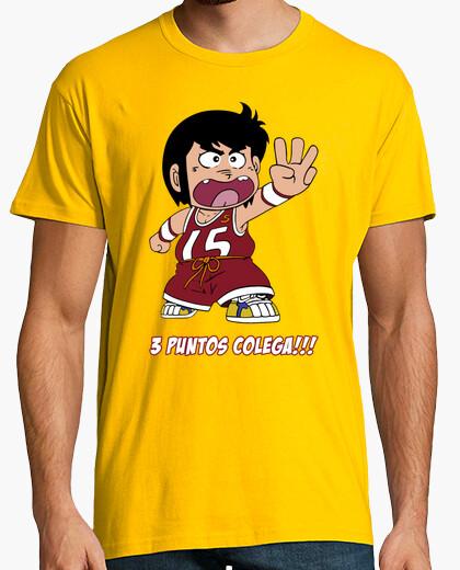 Camiseta Chicho Terremoto - 3 Puntos Colega!!!