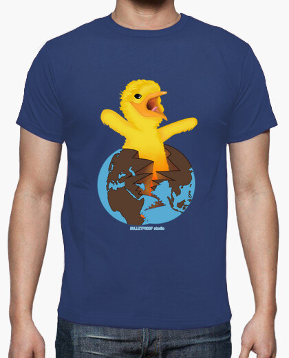 Chicken world t-shirt