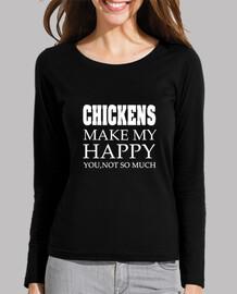 CHICKENS MAKE MY HAPPY