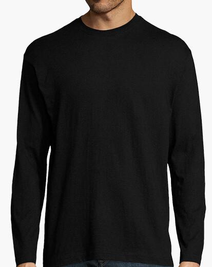 Camiseta Chico, manga larga, verde militar