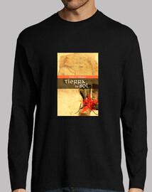 Chico, portada novela Tierra de Sol    eslogan espalda