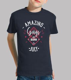 chicos increíbles nacen en julio