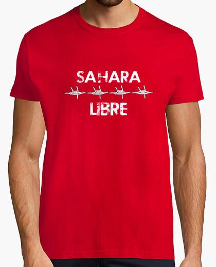 Camiseta CHICO.Sáhara libre con espino(Blanco)