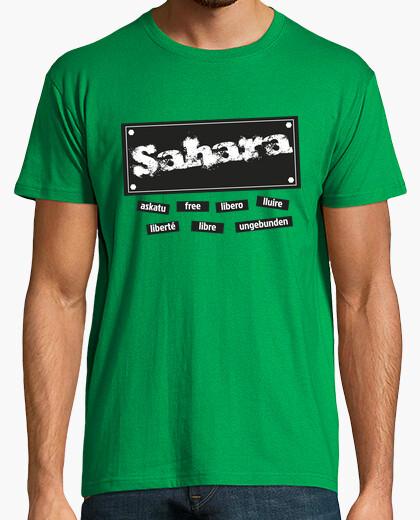 Camiseta CHICO.Sahara libre en todo el mundo