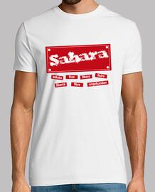 CHICO.Sahara libre en todo el mundo(rojo)