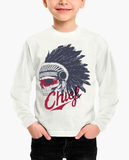 Ropa infantil Chief - native skull