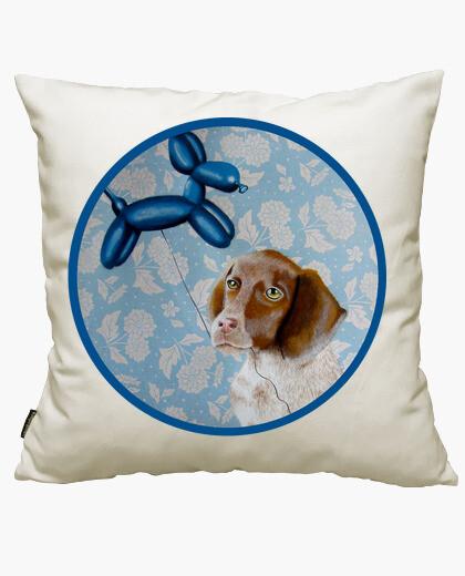 Housse de coussin chien avec un chien