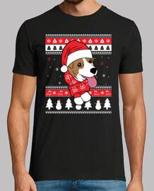 chien de noël jack russell terrier