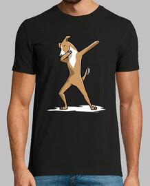 Chien Greyhound Dab Italien!