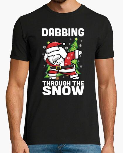 Tee-shirt chien maltais dab noel
