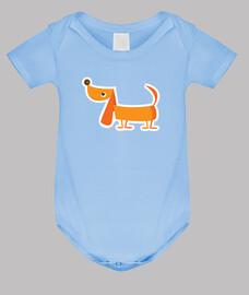 chien modèle de corps de bébé.
