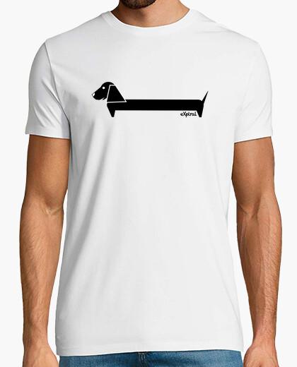Tee-shirt chien noir