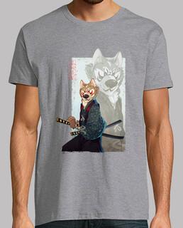 chien samouraï. akita
