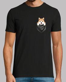 chien shiba inu poche