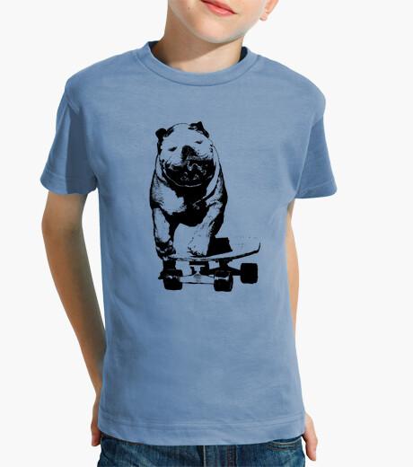Vêtements enfant chien skateur