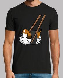 chien sushi basset hound