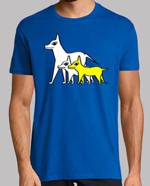 chiens - jaune