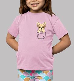 chihuahua del bolsillo - camisa de los niños