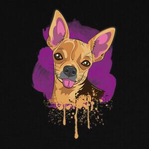 Camisetas Chihuahua lengua