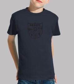 child-shirt black basque