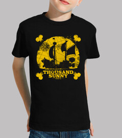 Children, short sleeve, black