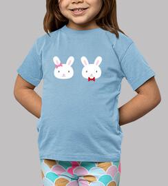 Children, short sleeve, blue