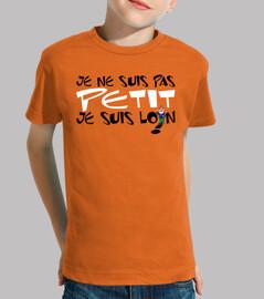Children, short sleeve, orange