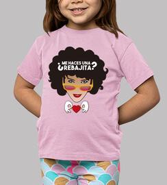 Children, short sleeve, pink