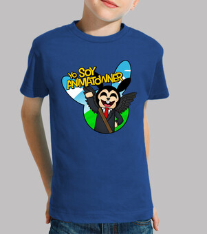 Children, short sleeve, royal blue