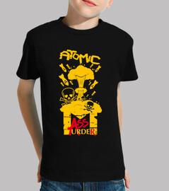 children's tee-shirt - atomic mass murder