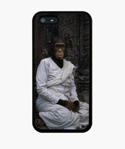 Funda iPhone Chimpancé budista