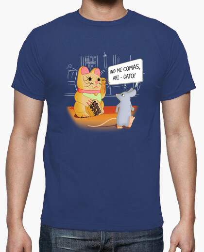 Chinese cat and mouse t-shirt