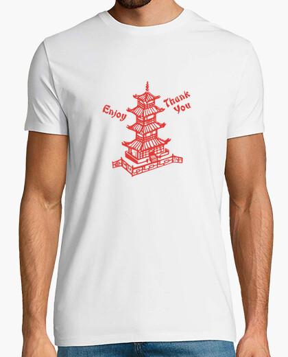 T-Shirt chinesisches essen herausnehmen